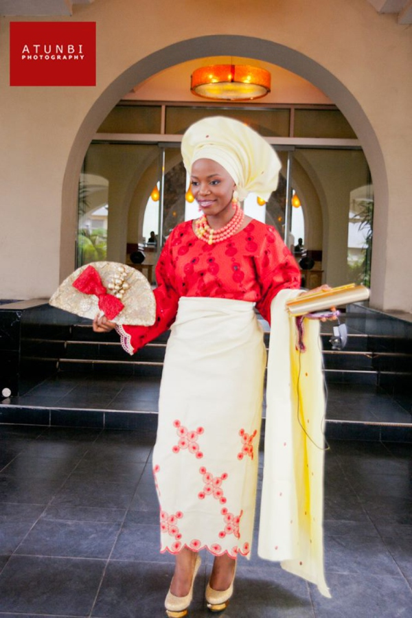 yoruba-traditional-wedding-attire-red-gold-colour-combination