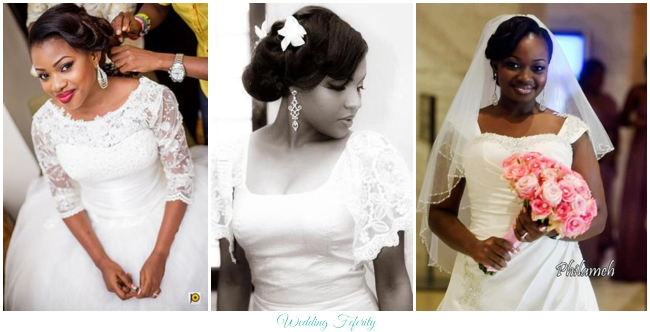 Wedding Dress Style Guide Necklines