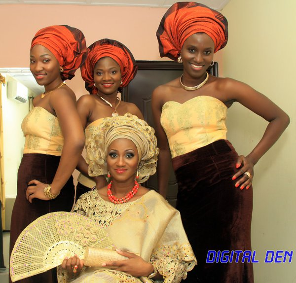 brown_gold_colour_combination_asoebi_nigeria_wedding_feferity