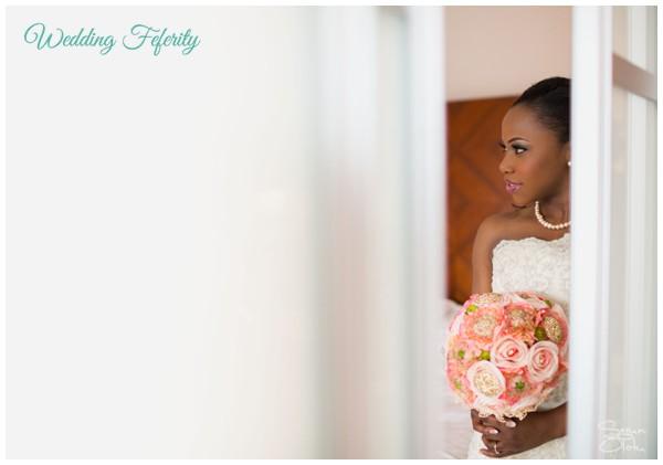 pink-flowers-bouquet-nigerian-wedding-bride