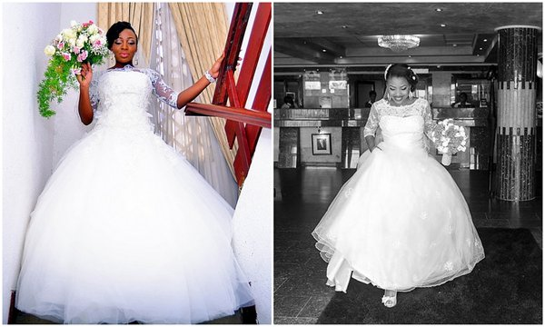 Pictures Of Nigerian Brides In Wedding Gowns