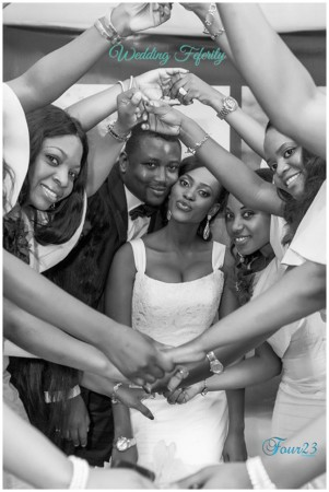 Yomi and Anu's Fun White Wedding in Abuja by Four 23 Photography