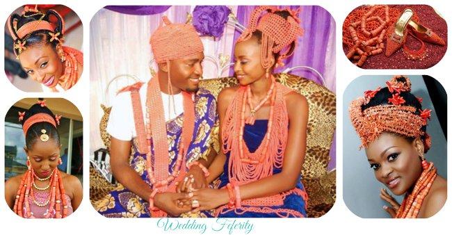Edo Wedding Attires and Beads – 18 Beautiful Benin Bridal Looks