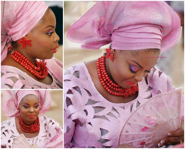 pink-nigerian-traditional-wedding-feferity-beads-corals