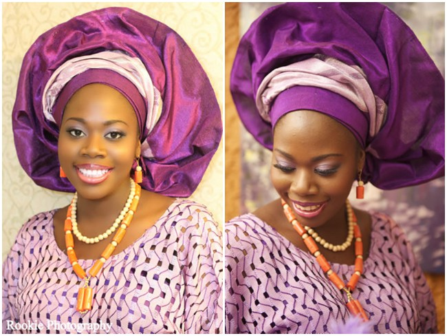 purple-silver-traditional-nigerian-attire-lace-aso-oke-gele-wedding-feferity