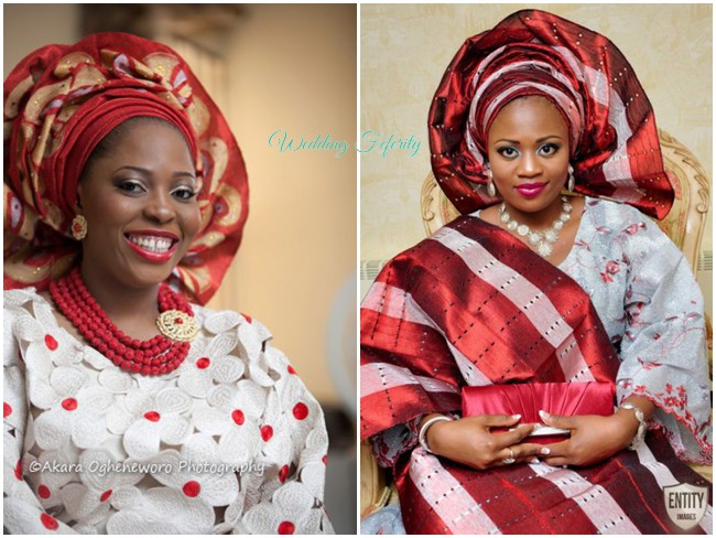red-traditional-wedding-attire-yoruba-aso-oke-lace-gele
