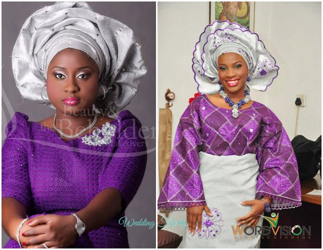 traditional-nigerian-attire-purple-lace-silver-aso-oke-gele