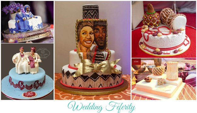Traditional Wedding Cakes for Weddings in Nigeria
