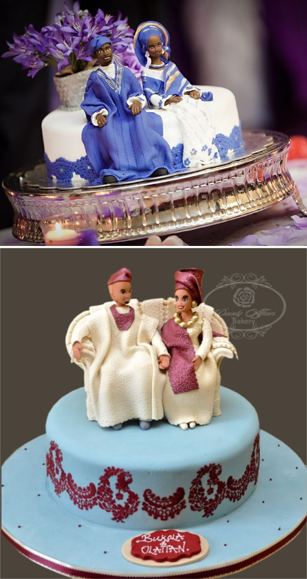 traditional wedding cakes in nigeria