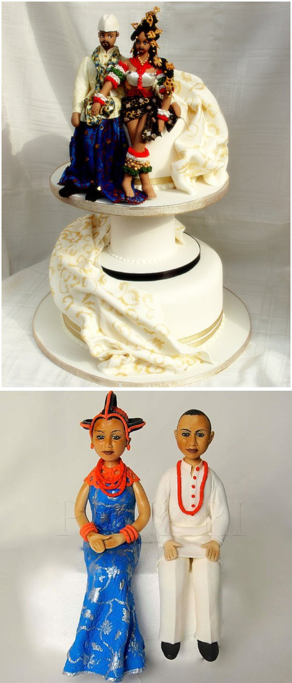 wedding cakes in nigeria