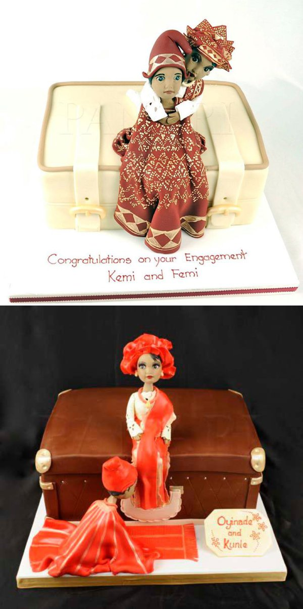 cakes for nigerian engagement ceremony