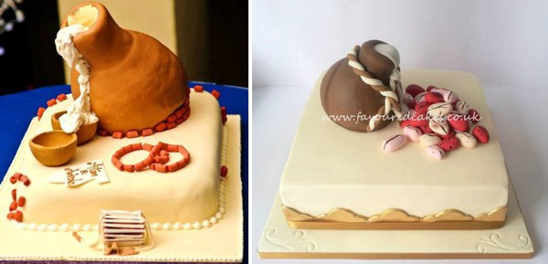 nigerian igbo traditional wedding cakes traditional wedding cakes pictures from weddings in nigeria 17847