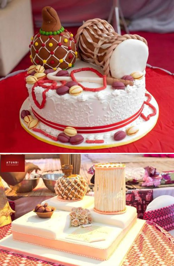 Traditional Wedding Cake Nigeria