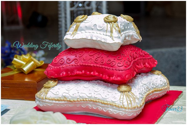 traditional wedding cake in nigeria