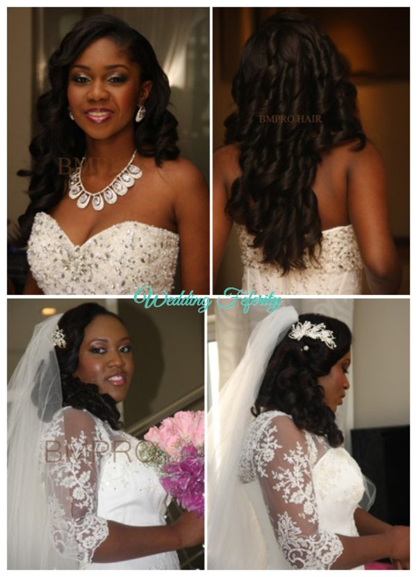 Wedding Hairstyle Ideas For The Nigerian Bride