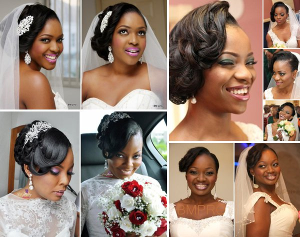 50 Wedding Hairstyles For Nigerian Brides And Black: Wedding Feferity