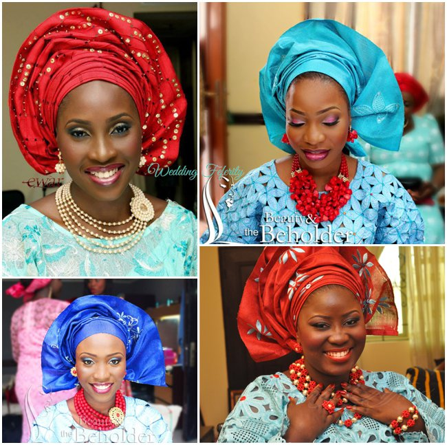 yoruba-traditional-attire-wedding-feferity-blue-red-colour