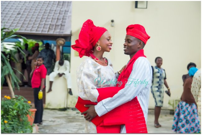 yoruba-wedding-aso-oke-lace-red-wedding-feferity