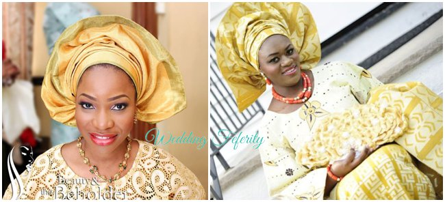 yoruba-wedding-traditional-attire-gold-aso-oke-lace