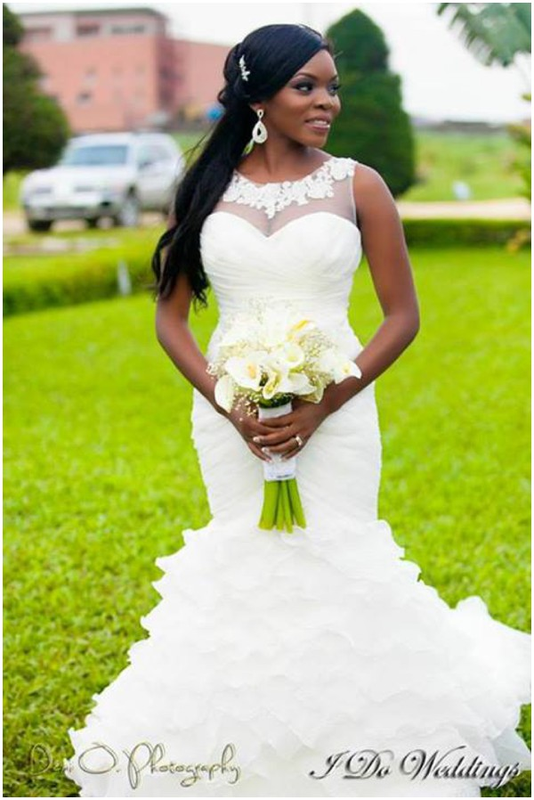 Nigerian Bride Wedding Feferity