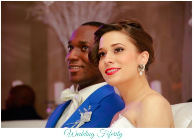 Seun and Lucy's Elegant White Wedding in Lagos
