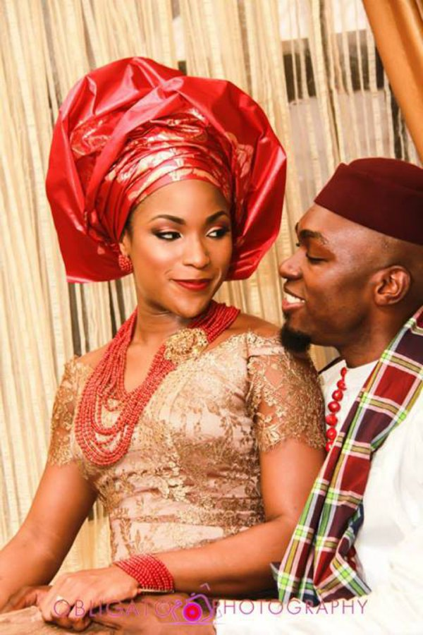 igbo bride and groom