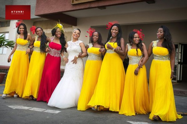 Nigerian Bridesmaid Dresses - 25 Super-stylish looks!
