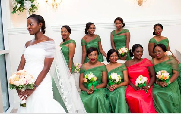 Bridal Train Nigerian Wedding Dresses