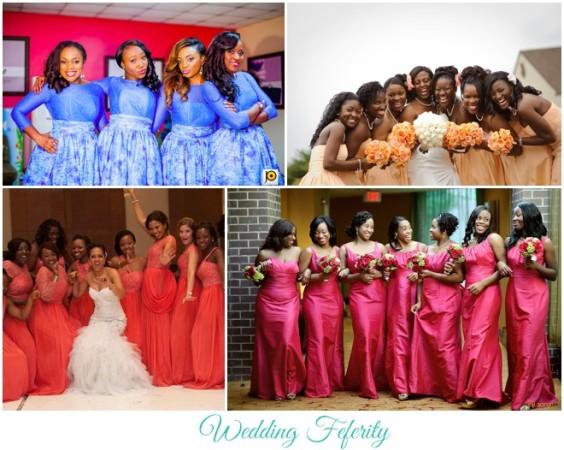 Nigerian Bridesmaid Dresses – 25 Super-stylish looks!