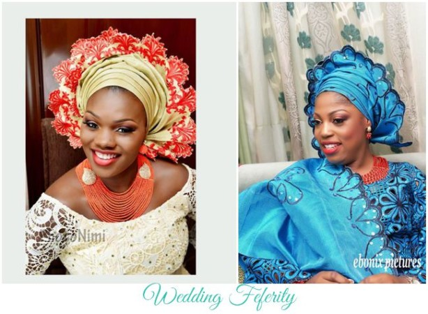 Yoruba Brides – What's trending? Scalloped Geles.