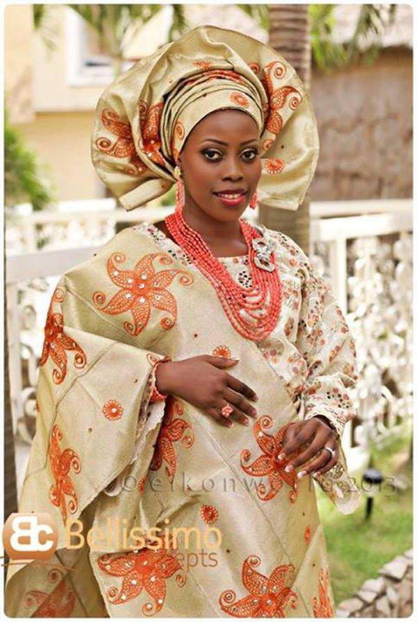 Yoruba Brides , What\u0027s trending? Scalloped Geles.