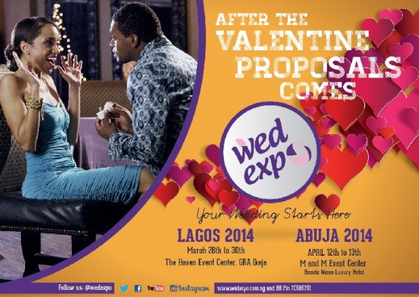 Wed Expo 2014! Attend Nigeria's Biggest Wedding Exhibition This Weekend