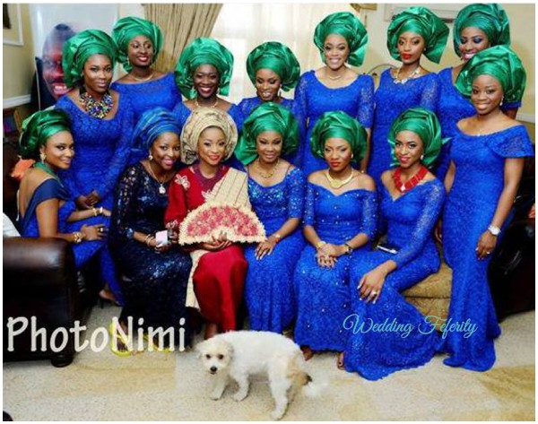 Aso Ebi Inspiration Pretty Lace Velvet And Sequin Styles