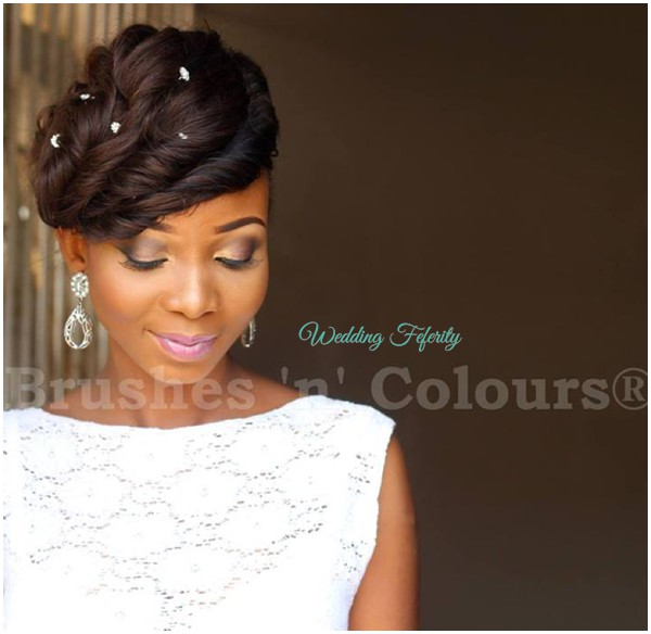 Naija White Wedding Makeup : Nigerian White Wedding Makeup Pictures - Mugeek Vidalondon