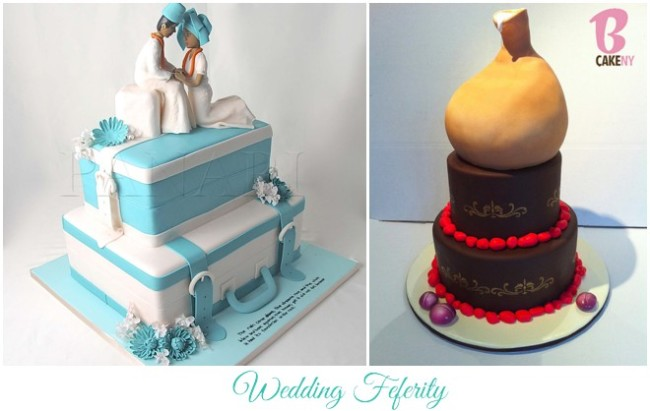 Unique Traditional Wedding Cakes for your Nigerian Wedding