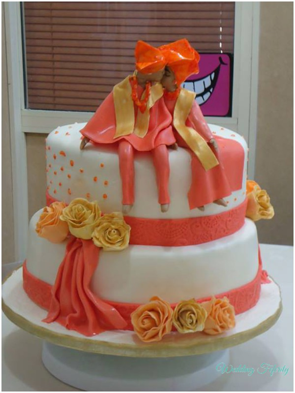 Traditional Wedding Cake Nigerian Feferity 2