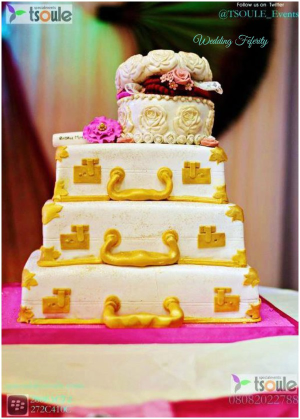 The most beautiful wedding cakes: 2014 wedding cakes in nigeria