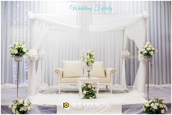 Nigerian Wedding Decor Traditional And White Wedding Ideas