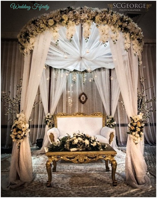 Nigerian wedding decor traditional and white wedding ideas for African themed wedding decoration ideas