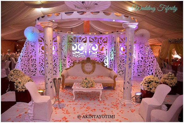 Nigerian wedding decor traditional and white wedding ideas nigerian wedding decor white weddings junglespirit