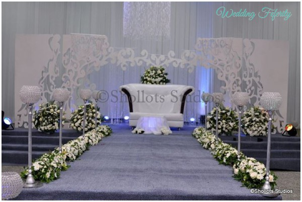 Nigerian wedding decor traditional and white wedding ideas for Different types of wedding decorations