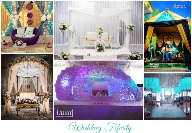 Nigerian wedding decor traditional and white wedding ideas junglespirit Images