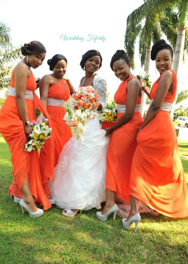 2227d74813 ... orange-bridesmaids-nigeria-wedding-feferity 0029