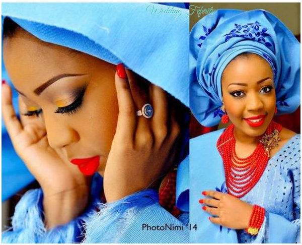 yoruba-bride-blue-aso-oke-wedding-feferity
