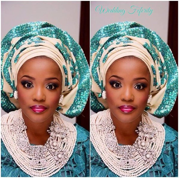 yoruba-bride-blue-lace-aso-oke-wedding-feferity