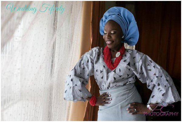 yoruba-bride-blue-red-grey-attire-wedding-feferity
