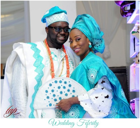 Yemi and Yomi, Winners of the My Big Nigerian Wedding Competition tie the knot!