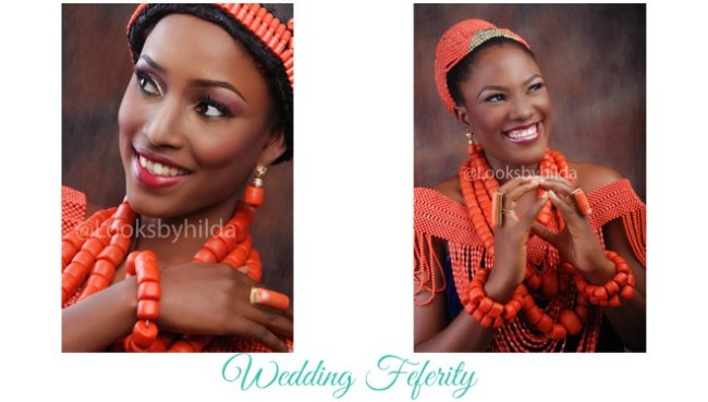 Benin Bridal Inspiration by Looks by Hilda