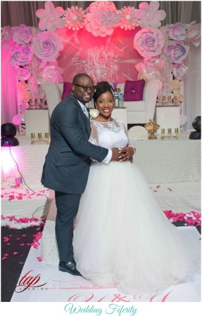 All the Fun & Glam Photos from Yemisi & Yomi's Big Nigerian Wedding!