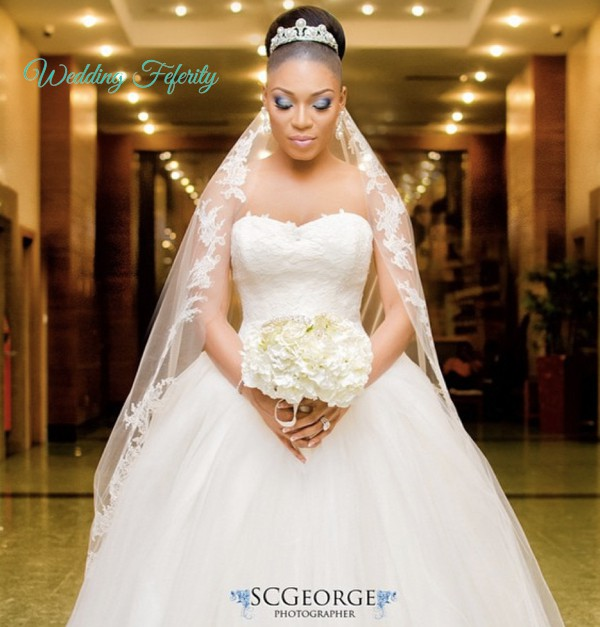 Nigerian Reception Dresses 32
